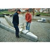 Trittstufenversetzzange | TSV Backen-L. 200mm Eintauchtiefe 125mm Gewicht 18kg Trgf. 250kg Öffnungsweite 70-500mm