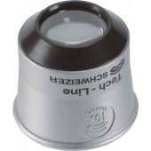 Uhrmacherlupe | Tech-Line Vergrößerung 6x Linsen-D.22,8