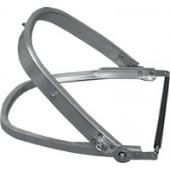 Universal-Helmhalterung | aus robusten Aluminium- profilen, für alle Standard-Helme