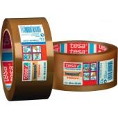 Verpackungsklebeband 4124 | Länge 66m Breite 50mm transparent PVC-Folie tesa