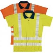 Warnschutzpoloshirt | Gr.S