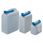Wasserkanister l | m.Auslaufrohr Einfüllöffnung-D.29mm PE natur H255xB258xT127mm lebensmittelbeständig