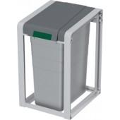 Wertstoffsammler 35 l | ABS-Kunststoff Basiseinheit