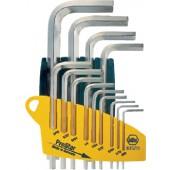 Winkelschraubendrehersatz | 13tlg. 6KT 0.05-1/16-5/64-3/32-7/64 Zoll i.Schiebehalter ProStar